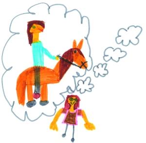 Dreaming of Horses - Felt-tip Pen - Naomi (6)
